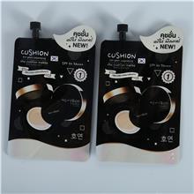 袋装粉底液包装 小袋BB霜 CC霜带盖子吸嘴袋旅行防晒霜包装袋定制