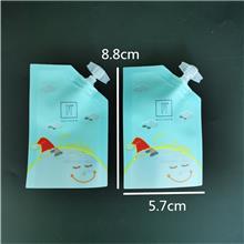 定制安全可随身携带旅行装包装袋 睡眠面膜护肤品粉底液吸嘴小袋