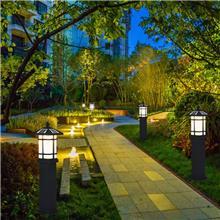 太阳能灯户外草坪灯led防水中式景观庭院别墅花园草地灯室外柱灯