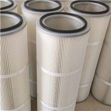 除尘滤筒 阻燃处理除尘滤芯滤筒 世纪 真空泵滤芯 按需供应