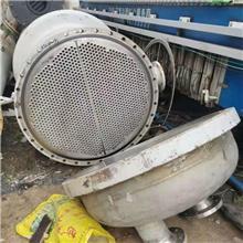 鹤壁供应卧式不锈钢冷凝器  90平方冷凝器 钛合金换热器规格