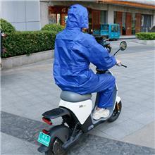 厂家直供 分体式双层雨衣套装 透气徒步登山反光雨衣摩托车骑行雨衣雨披 仓库直发