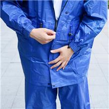 渔具厂家保安户外加厚反光成人分体雨衣雨裤套装 电动车摩托车户外 骑行外卖雨衣定制