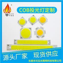 COB投光灯定制 厂家批发定制大瓦数COB光源 大功率灯珠 欢迎订购