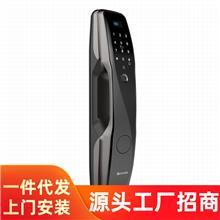 全自动密码锁磁卡自动智能锁电子门锁深圳工厂店指纹锁家用防盗门