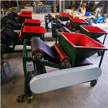 厂家供应 清杂输送设备 无风电动筛选机 小型扬场机