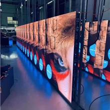 批发安装本田汽车展厅LED全彩小间距P1.667显示屏