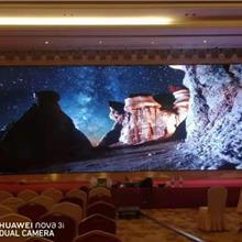上门安装比亚迪汽车展厅LED全彩小间距P1.667显示屏