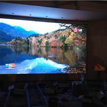 上门安装一汽奥迪汽车展厅LED全彩小间距P1.667显示屏