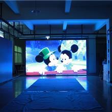 P3LED全彩显示屏租赁屏 全彩屏室内外 舞台商城酒店广告屏 薄清