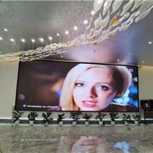 批发日产汽车展厅LED全彩显示屏小间距P1.667