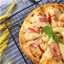 泰式培根披萨9寸 速食西餐 福建冷冻披萨厂 欢迎选购