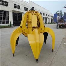 厂家现货定做行车抓斗 机械工业用多瓣抓斗 电动液压抓斗