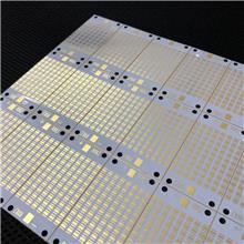 定制LED热电分离线路板  pcb 双面沉金铜基板 UV电路板 加急打样