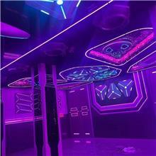 电竞??樯杓?网咖酒店升级改造 金河田 娱乐会所灯光装饰