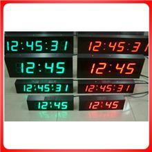厂家直销|户外防水大尺寸计时器|12英寸白光ed电子计时牌|时钟