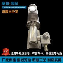 不锈钢屏蔽泵  屏蔽自吸泵 耐腐蚀自吸屏蔽泵 静音防爆屏蔽泵
