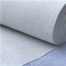 厂家定制白色土工布 长短丝涤纶土工布 公路养护护坡渗水非标土工布