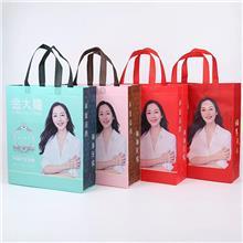 覆膜无纺布袋子定做服装手提袋广告礼品购物袋现货批发定制印logo