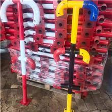 楼梯防护立 安全防护立杆 新凯 防护立杆 新凯建材