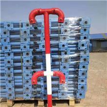 定型化临边护栏 安全防护立杆 新凯 活动立柱 生产销售