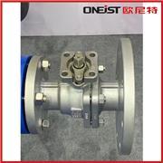 高平台球阀 Q41F-16P不锈钢 双向手动二通式不锈钢法兰球阀